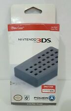 NEW PowerA  Silicone Flex Case for Nintendo 3DS -Black FREE shipping
