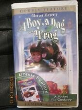 A Boy, A Dog, And A Frog (VHS, 2002)