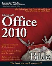 Office 2010 Bible, Bucki, Lisa A., Wempen, Faithe, Groh, Michael R., Tyson, Herb