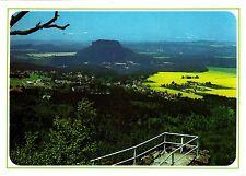 Sächsiche Schweiz , Blick auf Kurort Gohrisch , Ansichtskarte