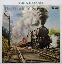 WORLD OF STEAM - On Railways In Britain & Abroad - Ex LP Record Argo SPA-A 103