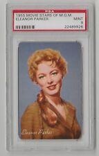 1955 MOVIE STARS OF MGM ELENOR PARKER INTERRUPTED MELODY PSA 9 MINT & CENTERED