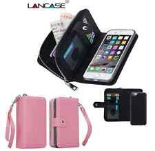 "Apple Iphone 6+ ""PLUS"" / 6s+ ""PLUS"" Purse wallet / pink /detachable phone holder"