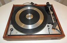 DUAL 1219 TURNTABLE RECORD PLAYER VINTAGE PARTS OR REPAIR