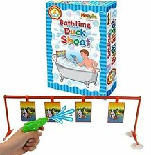 Playwrite Bathroom Duck Shoot Bath Toy Water Pistol & Target Game