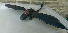 2010 ~ HOW TO TRAIN YOUR DRAGON ~ FIRE BREATHING NIGHT FURY FIGURE (TOOTHLESS)
