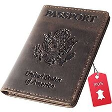 1x world map passport holder cover travel wallet card case vintage rachiba leather passport holder travel wallet cover case for men n women gumiabroncs Choice Image