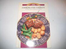 Canadian Living Cooking For Company Cookbook Illustrated Free Shipping