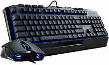 Cooler Master Devastator II Blue LED Backlit USB Gaming Keyboard & Mouse UK
