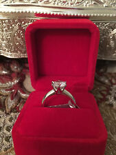 2 CT ROUND CUT DIAMOND SOLITAIRE ENGAGEMENT RING 18K WHITE GOLD ENHANCED 5.5