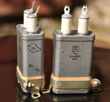 2 x 0.1uF 3000V 3kV 5% HIGH VOLTAGE PIO CAPACITORS KBG-P NOS