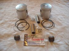 yamaha 240 250 500 tdr tzr rdlc rd500lc rz rd lc kit pistons prox 56,65 mm neuf