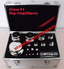 5kg-1mg Class F1 Precision Calibration Weights Poise for Digital Balance Scale