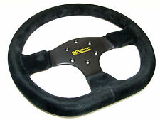 Sparco Steering Wheel - R353 (330mm/36mm Dish/Flat Bottom/Suede)