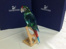 "SWAROVSKI CRYSTAL LIMITED EDITION ""MACAW"" GREEN PARADISE GIANT BIRD [NEW]"