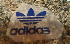 "ADIDAS PATCH  Logo PATCH HOT IRON ON TRANSFER   Logo  Patch 3"" x 2"" BlUE"