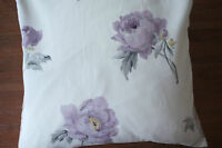 Laura Ashley Cushion Cover Peony Blossom Amethyst fabric 50cm x 50cm Square  New