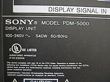 Sony  KE-50XBR900 / PDM-5000  Plasma PCB (qty 1)