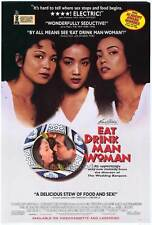 EAT DRINK MAN WOMAN Movie POSTER 11x17 Sihung Lung Kuei-Mei Yang Yu-Wen Wang