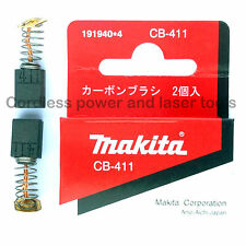 Makita 3901 Biscuit Jointer Genuine Original CB411 Carbon Brushes Part 191940-4