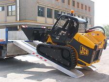 Auffahrrampen, Alu Rampen für Minibagger, Verladeschienen 4,5 m lang - 7.100 kg