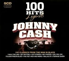100 Hits Legends: Johnny Cash by Johnny Cash *New CD*