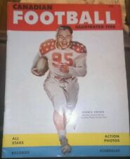 1958 Canadian Football Illustrated Normie Kwong on cover
