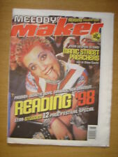 MELODY MAKER 1998 SEP 5 MANICS PRODIGY BEASTIE BOYS ASH