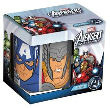 NEW OFFICIAL MARVEL AVENGERS BLUE CERAMIC MUG NOVELTY GIFT TEA COFFEE MUGS