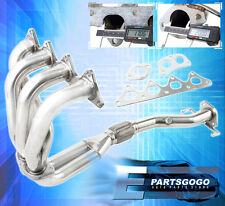 97-02 MIRAGE LS 1.8L I4 SOHC JDM PERFORMANCE STAINLESS EXHAUST HEADER MANIFOLD