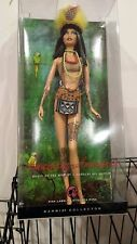 Amazonia Barbie Dolls of the World Tattooed Pink Label 50th Anniversary NEW