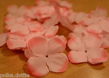 Large Daisy Fabric Flowers - Craft Embellishments - Set of 20 (Pink)