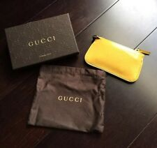 ��AUTHENTIC GUCCI YELLOW MICRO GUCCISSIMA CLIP KEY CASE ✨NEW✨