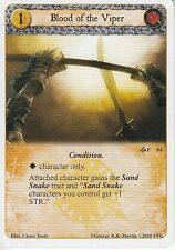 3 x Blood of the Viper AGoT LCG 1.0 Game of Thrones Of Snakes and Sand 94