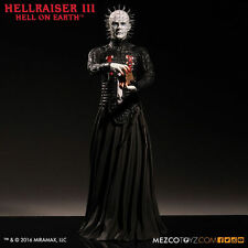 "HELLRAISER III HELL ON EARTH PINHEAD 12"" INCH ACTION FIGURE MEZCO 30cm"