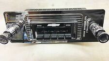 Radio to suit `47 - '54 & '55 1st Series Chev Pickup. Bluetooth, 300Watt, AM-FM.