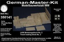 350141, descarga, 1:35, camiones beladungsblock 2b, resin, gmkt World of War II, History
