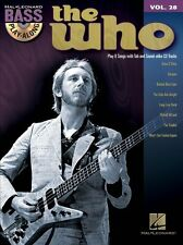 Bass Play-Along Volume 28 The Who Guitar TAB Learn to Play Music Book CD