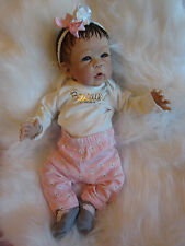 Life Like Reborn ANNA Anatomically correct baby Girl Full Body by Linda Murray