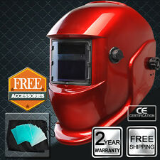 Casco mascara soldadores Auto oscurecimiento Solar Powered soldadura MIG TIG ARC