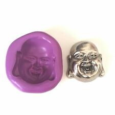 Laughing Buddha Silicona Molde 30mm-Sugarpaste Fimo Cupcake Toppers