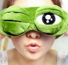 Pepe the frog Sad frog 3D Eye Mask Cover Sleeping Funny Rest Sleep Anime Gift  チ