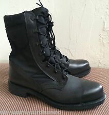 ~NEW! US MILITARY BELLEVILLE 200 TROP BLACK STEEL TOE COMBAT BOOTS 9R ALL SEASON