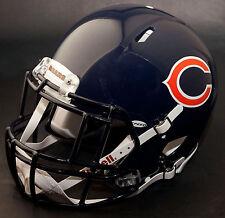 *CUSTOM* CHICAGO BEARS NFL Riddell SPEED Full Size Replica Football Helmet