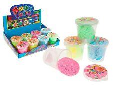 SNOW PUTTY vasche VASI Fidget trafficare Kids terapia sensoriale giocattolo regalo di Natale x 1