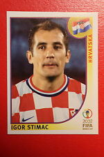 PANINI KOREA JAPAN 2002 # 481 HRVATSKA STIMAC  WITH BLACK  BACK MINT!!!