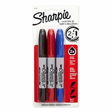Sharpie Super Twin Tip Assorted 3 Pack