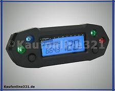KOSO DB-01R DB01 Tacho Tachometer Drehzahlmesser NEU ABE  deutsch universal