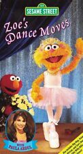 Sesame Street Zoe's Dance Moves VHS Video Tape with Paula Abdul Hip Hop & More