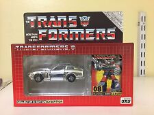 Transformers e-hobby 08 Chrome Silver Streak 2002 Brand new MIB